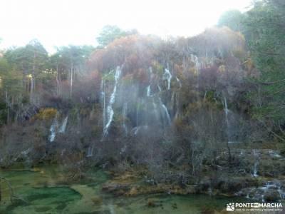 Nacimiento Río Cuervo;Las Majadas;Cuenca;refugio de la renclusa irati navarra cimbarra ruta cascada
